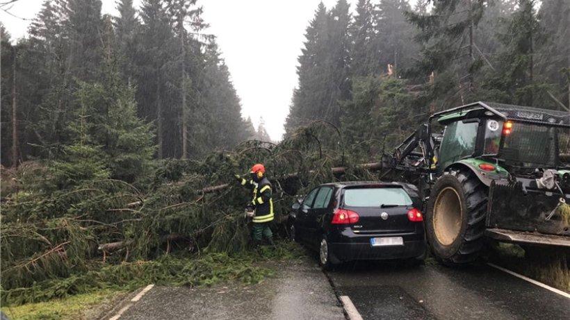 Sturm herwart w tet im harz und sorgt f r viele for Harz kurier wohnungen