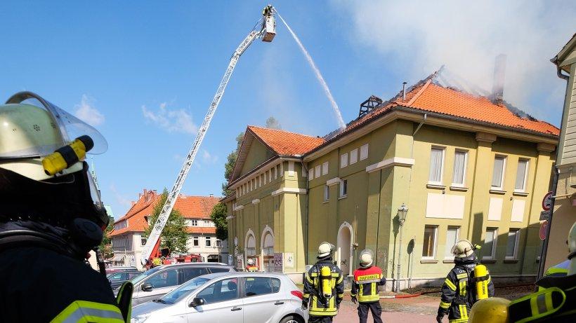 brand im alten lichtspielhaus in osterode - lokales